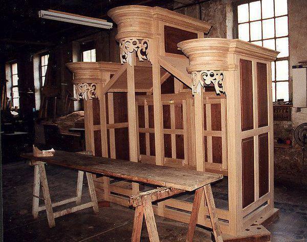Manufacture Languedocienne de Grandes Orgues Ebénisterie